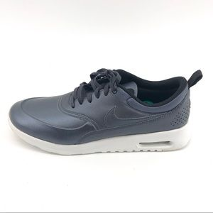 Nike Air Max Sneakers 12 Mens Grey Lace Up Shoes